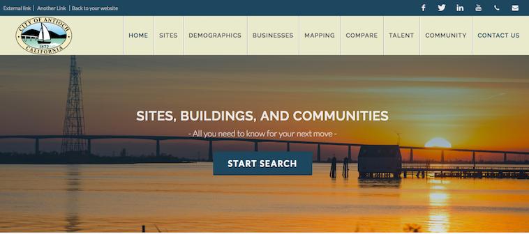 Antioch GIS Website