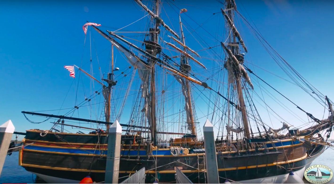 Antioch Marina - Tall Ships