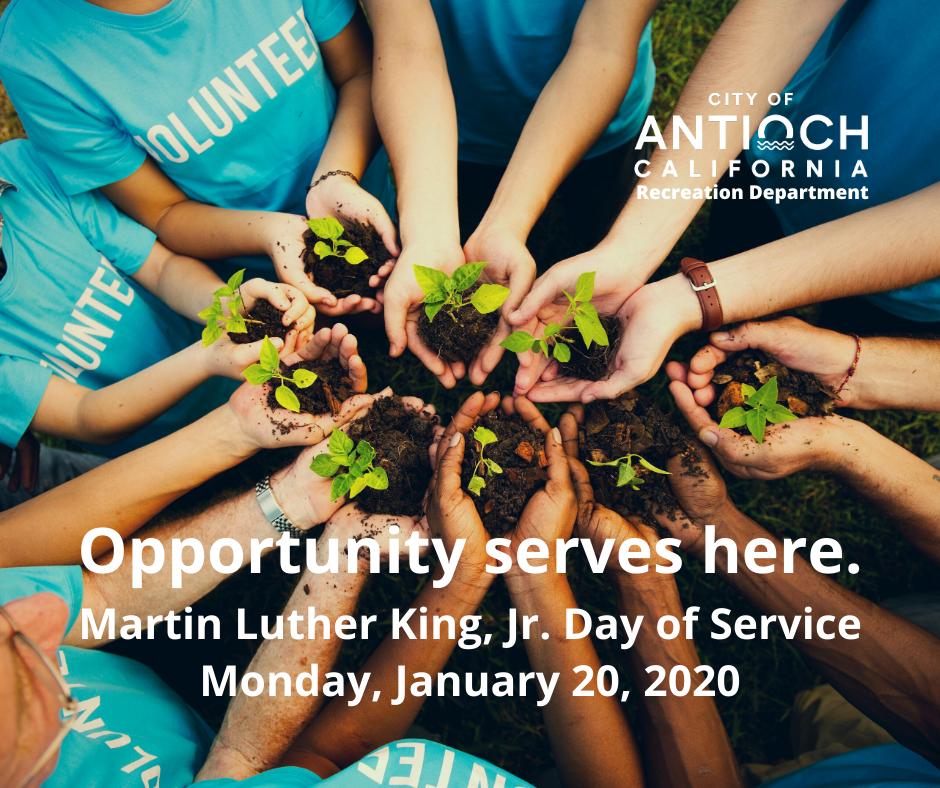 MLK Day of Service - Antioch Ca