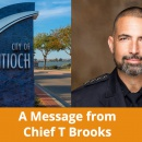 Message from Antioch Police Chief