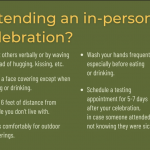 Safer Holiday Celebrations During COVID-19