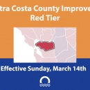 Contra Costa Moves to Red Tier