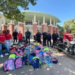 Antioch Police Department Donates 400 Backpacks